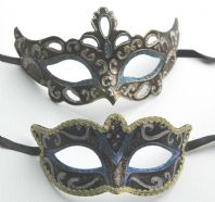 Blue and Gold Masks